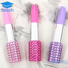 New Woman Lovelty Ball Pen, Cheap Plastic Lipstick Pen