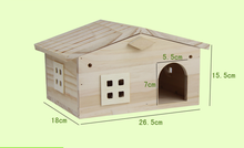 New design wooden bird house with window and factory price for sale