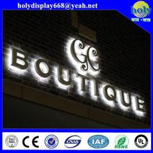 whole lighted acyrlic letters ,big acrylic letter box, tall acrylic box