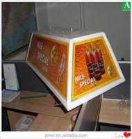 plastic advertising light box vacuum form goods
