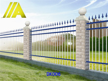 YT-006 Alibaba express Hot-dipped galvanized metal picket fence/fencing