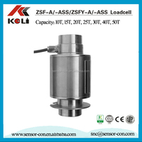 ZSF Column type Chinese weight sensor truck scale 50 ton load cell