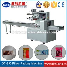 Brand new horizontal pillow packing machine for wholesales