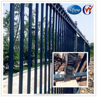split rail fencing/concrete rail fence/pvc post and rail fence