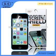 clear anti-glare matte screen protector for Iphone 5c invisable shield
