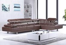 leather modern sofa genuine leather corner sofa F868#