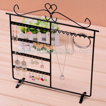 low price necklace display acrylic jewelry display wrought iron bed low MOQ