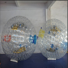 Guangzhou factory direct supply aqua park water zorb flying ball(M-017)