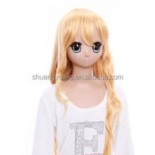 Japanese wigs with bangs for cosplay with crazy color with best quality and fast delivery