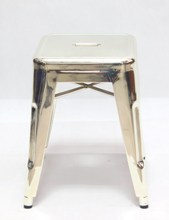 popular antirust & waterproof metal bar stool for indoor and outdoor used
