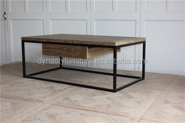 Industrial cajones de madera antigua sala mesa de café diseños con ...