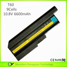 compatible generic t60 laptop battery for thinkpad, laptop battery for lenovo ibm r60