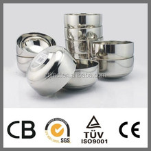 Cheap Double Wall Stainless Steel U Mixing Small Bowl