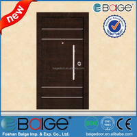 BG-AI9828 Modern Italy Style Hollow Flat Metal Armore Doors for Apartment