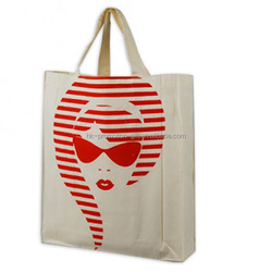2015 Top quality National Trend Shopping Tote Bag Cotton, fashion cotton shopping handbag, cotton canvas tote bag shopping