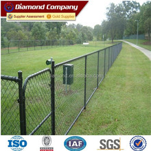 galvanized chain link fence for sale factory / PVC coated chain link fence