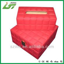 caja de cuero hechos a mano