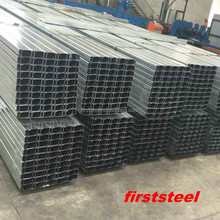 Factry supply Competitive price u shaped steel channel