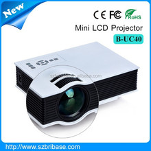 Excellent quality 1080p 800 lumens 800*480 full hd led projector mini mobile projector for Business home use