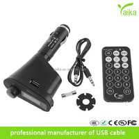 hot sell China user manual car mp3 player wireless fm transmitter