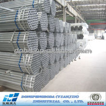 tubo redondo de acero galvanizado de proveedor China
