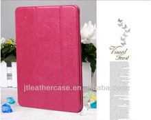 New Arrival stand case for ipad mini folio leather case foldable pu case for ipad mini