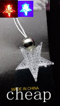 cheap star shaped led necklace 004