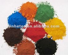 good quality red/yellow/black Iron Oxide for concrete coating from direct factory