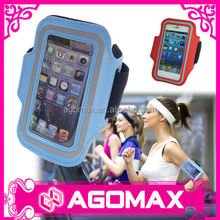 Low cost all purpose durable reflective sport mobile phone arm holder