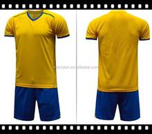 Men's mesh fabric soccer jersey sets /soccer uniform/best quality football suits