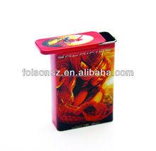metal tobacco cases