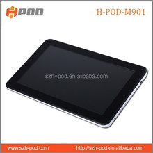 2015 best quality newest tablet pc with front and back camera 9 inch