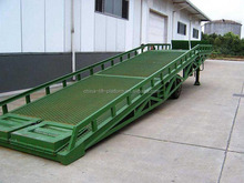 15T hydraulic steel lift mobile portable steel dock ramp