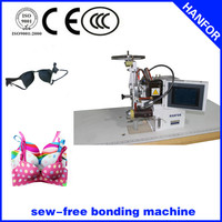 shanghai hanfor Full Automatic plastic film slitting and rewinding socks machine