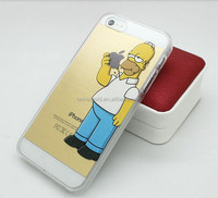 China supplier simpsons Ultrathin Hard back cover case for iphone 6/6plus