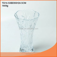 Fashion new products 2015 latest antique merino glass vase