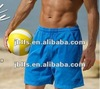 Western mens summer beach cotton volleyball shorts