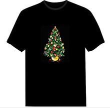 LED music T-Shirt/Light music T-Shirt/Flashing music T-Shirt