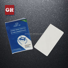 travel pack 1/2 1/4 fold toilet seat cover papers
