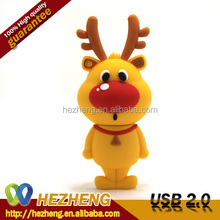 New Products 2014 Deer USB Flash Drive 4GB Bulk Buy From China