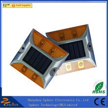 Long Working Time IP68 Waterproof Garden Cat Eye Dock Deck Solar Road Stud Light Carbon Frame Road