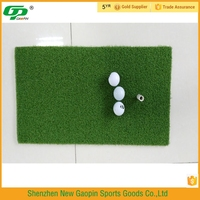 Hot selling cheap golf hitting mat for outdoor driving range