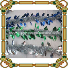 arts and crafts for party decoration , PET Glitter Christmas Tinsel