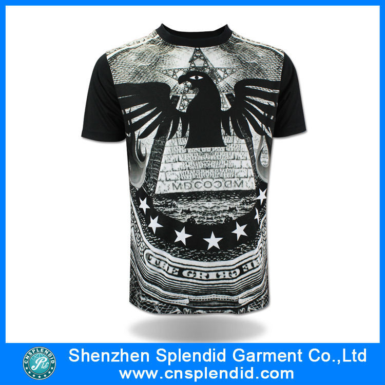 2016 T Shirt Manufacturers Fashion Printed T Shirt