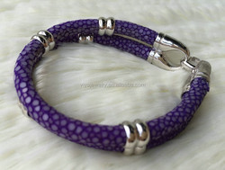 2015 Fashion Skull New Design stingray men smart bracelet design