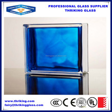 Interior and exterior decoration 12x12 glass block size, brick glass block size