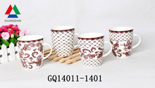 new shape tea sets bone china in liling factory for sale