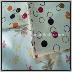 transfer printing faux suede fabric