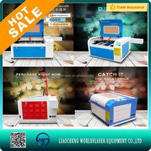 portable glass laser engraving machine/mini laser engraving machine price/co2 wood laser cutting machines