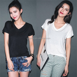 women fashion plaid shirt 100 cotton 200gsm fabric for t-shirt wholesale women's clothing yellow tshirt